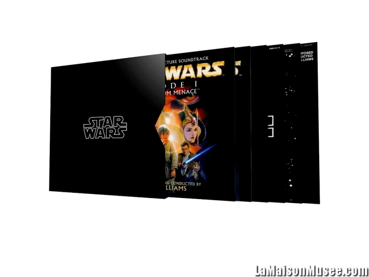 Collection complete Star Wars Vinyle 2016