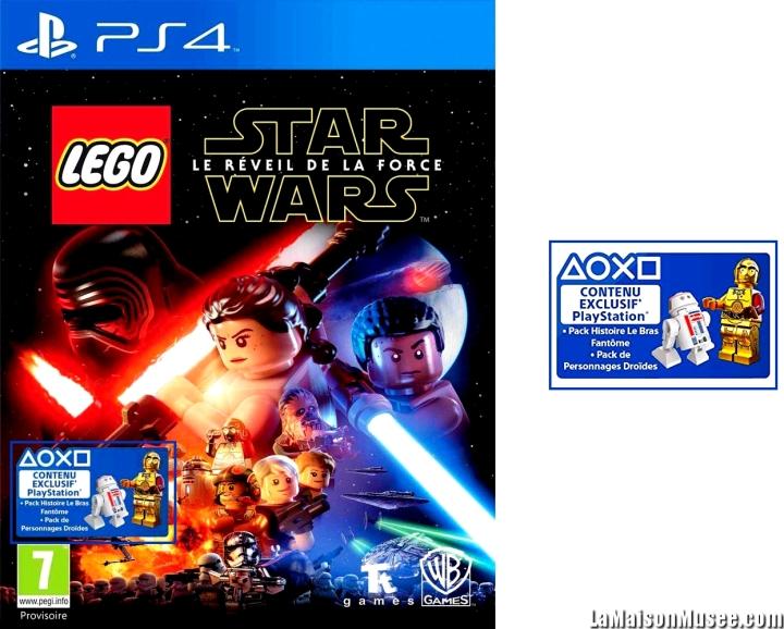 """""""Le Bras Fantôme"""" a déjà été dévoilé dans une BD vendue séparément. Aujourd'hui, LEGO Star Wars Le Reveil de la Force propose une revisite pour tous les joueurs. A découvrir le 28 Juin 2016."""
