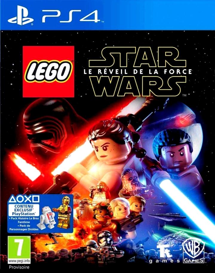 Jaquette Star Wars LEGO Reveil de la Force