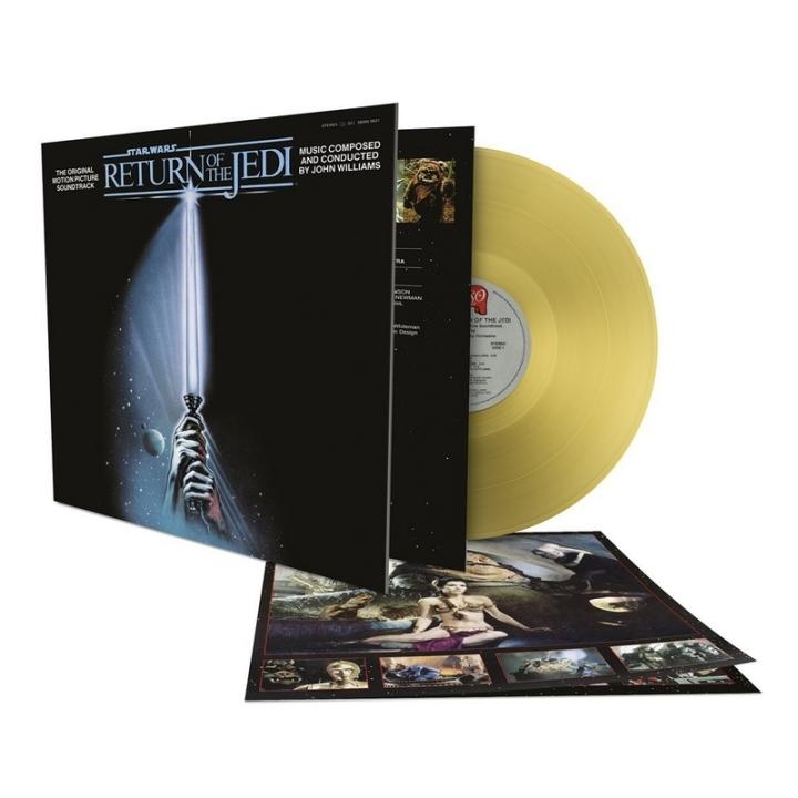 Sortie Vinyle Or Star Wars 6