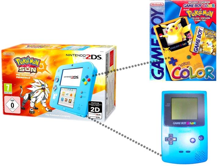 2DS Pokemon Sun and Moon