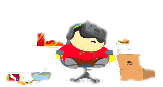 Lunettes VR Troll South Park Artwork