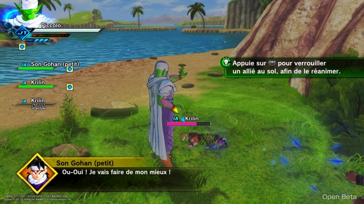 Battle of Z Xenoverse 2 Exemple