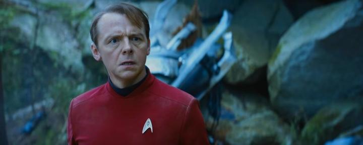 Simon Pegg Scenario Star Trek