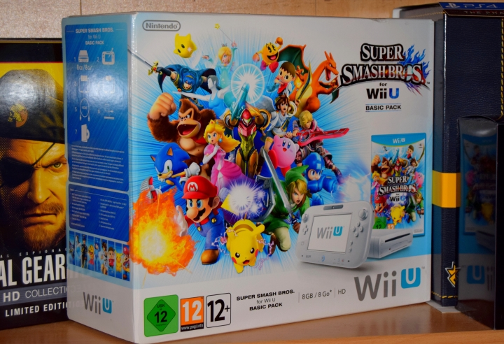 Pack Wii U Smash Bros Collector