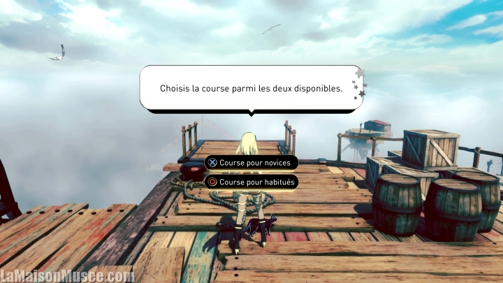 Modes de jeu Gravity Rush 2